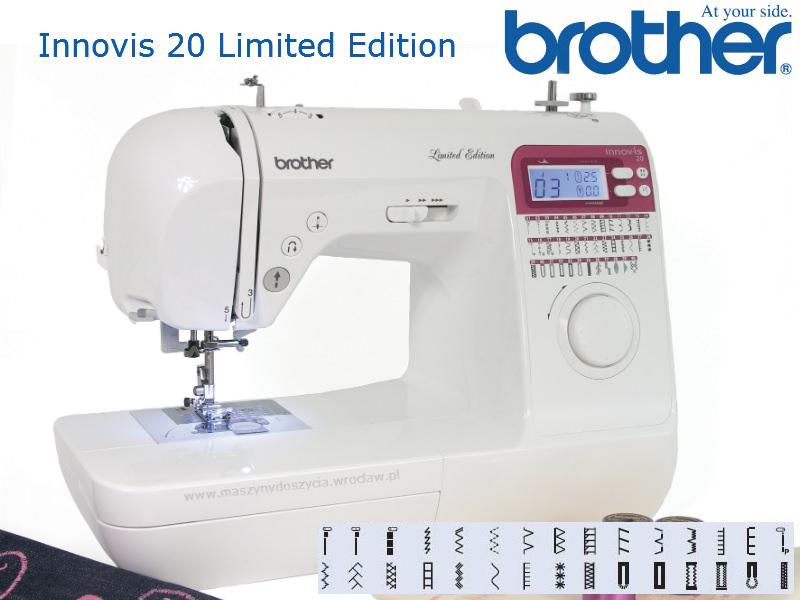 Brother NV-20 LE - maszyna-komputerowa