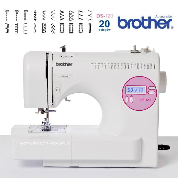 Brother DS-120 - maszyna-komputerowa