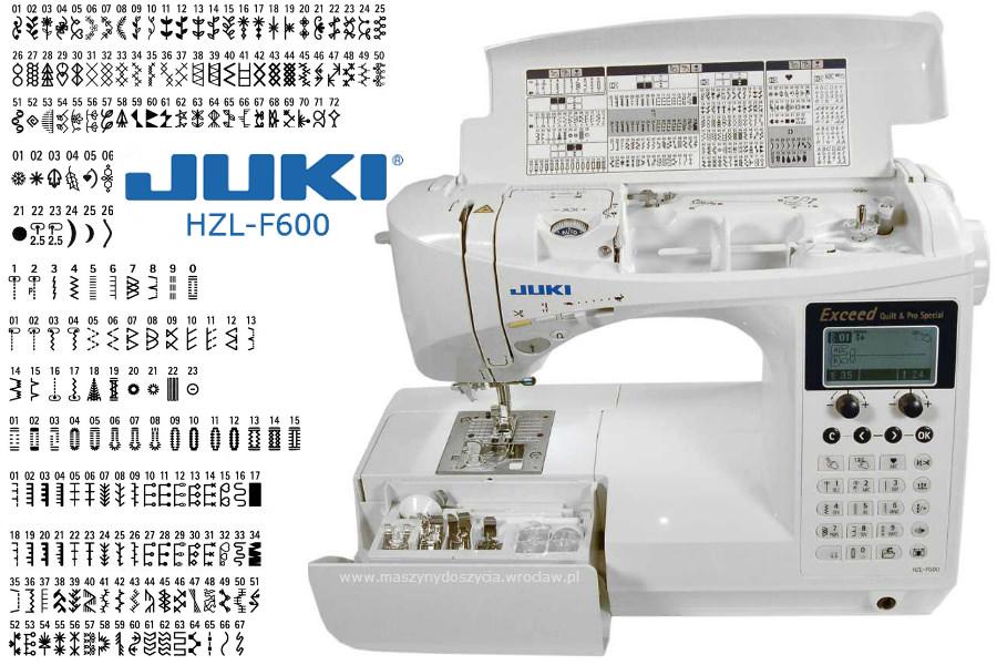 Juki HZL-F600 - maszyna-komputerowa